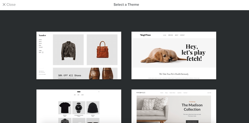 Weebly ecommerce themes 2