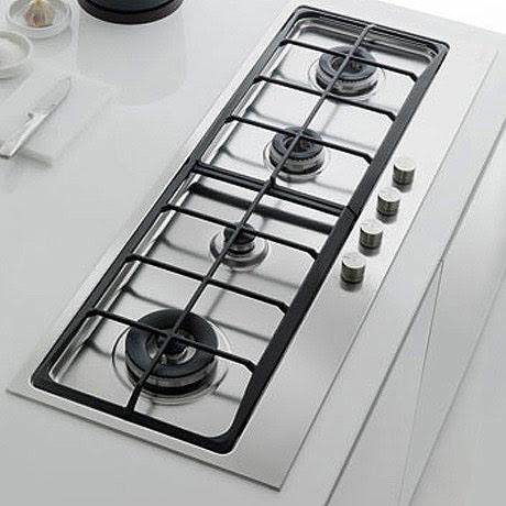 Mobili da cucina di grandi dimensioni: Piani cottura grandi dimensioni