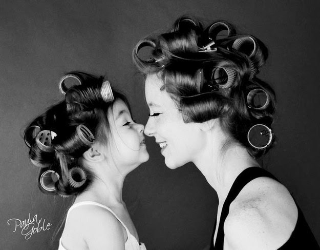 13 Impossibly Sweet Mother Daughter Photos That Will Melt Your Heart