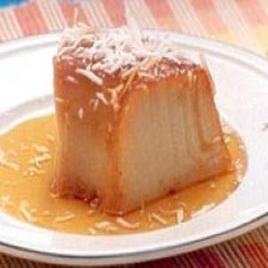 Receita de Pudim de Batata-doce com Coco