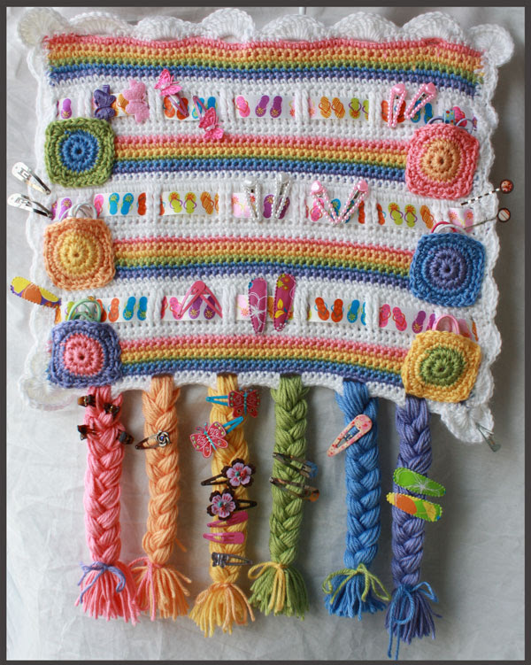 Hair Accessory Organizer Crochet Patterns - Click Image to Close