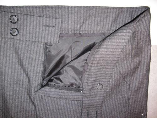 Grey pants front