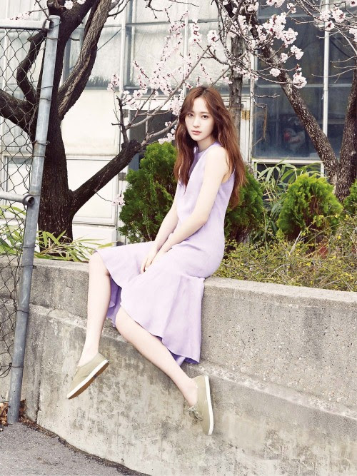 [MAGAZINE] F(x) Krystal – Vogue Girl Magazine May Issue '15 1500x2000