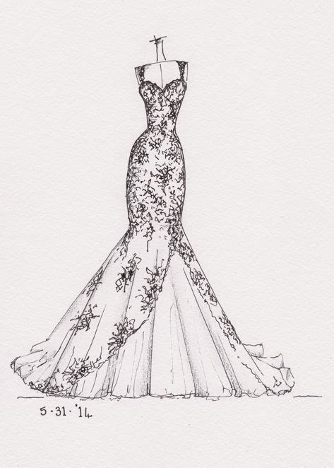 marriage dress sketches   Buscar con Google    ART ART