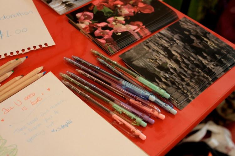Postcards for Atiqah and Vui Kong