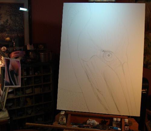 Pelican Drawing Easel