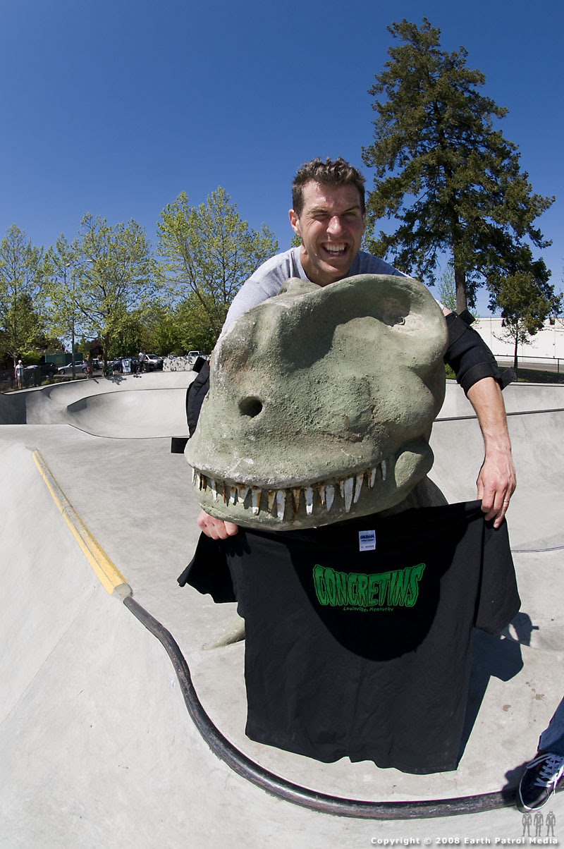 Dave and Concretin TRex @ Tigard