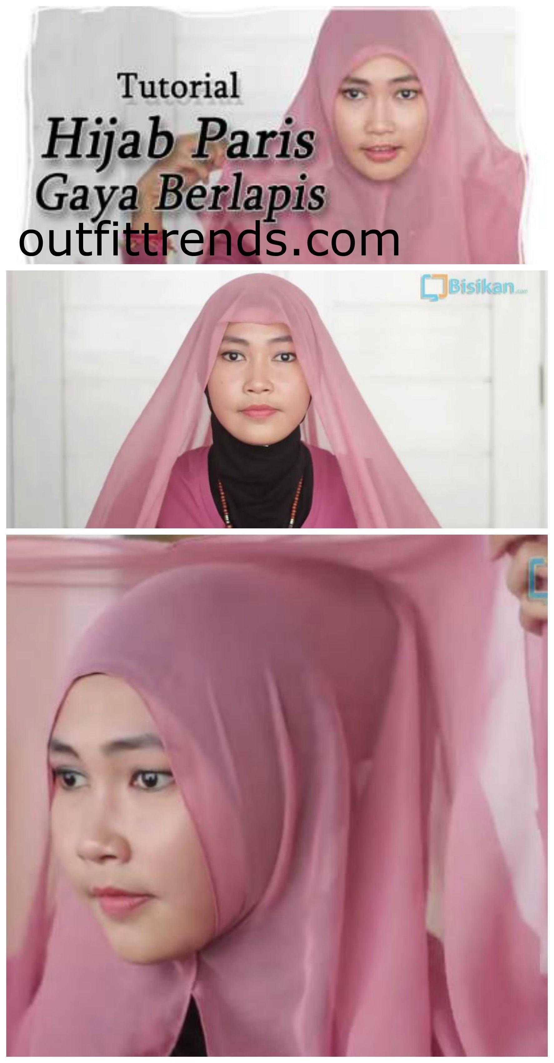 22 Gambar Lengkap Tutorial Hijab Ijab Kabul Paling Fenomenal