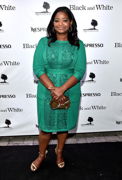 Octavia Spencer at the 'Black and White' After Party