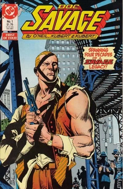 Doc Savage Comic Books Value