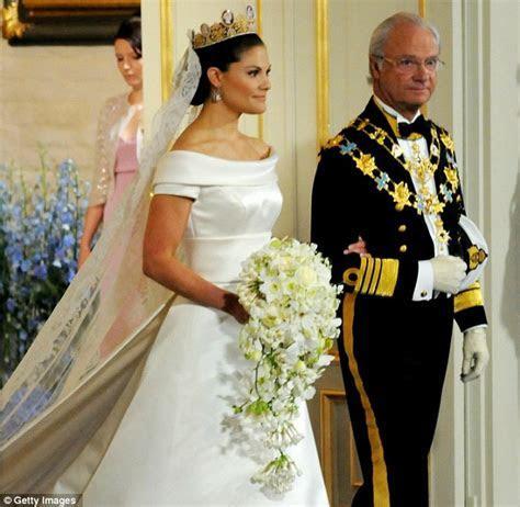 Sweden's fairytale royal wedding: Princess Victoria