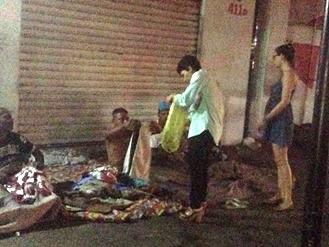 Polícia Militar realiza entrega de agasalhos em Feira de Santana