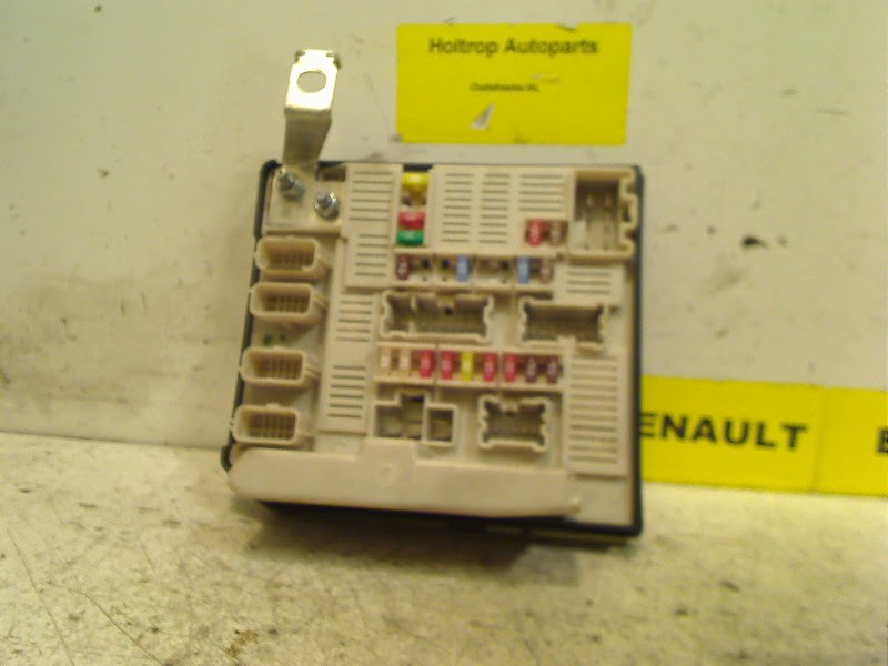 Fuse Box On Renault Megane