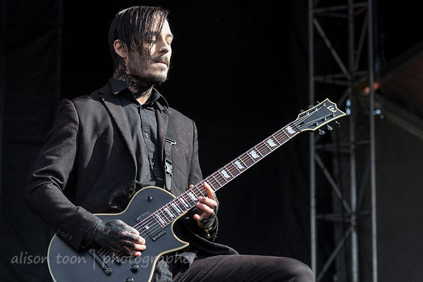 Ryan Sitkowski, guitar, Motionless In White