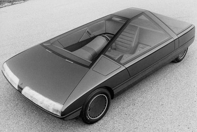 Citroën Karin Concept Car Should Have Made The 80s The Trapezoidal Decade