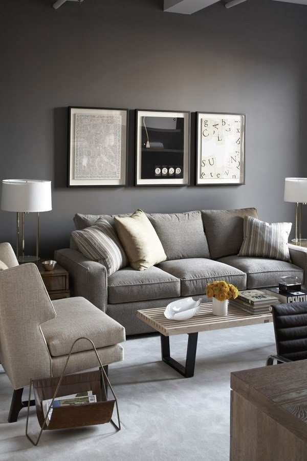 Outstanding gray living room designs - modern interior ...