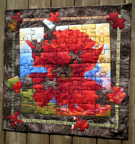 ENTRY: Blossom Puzzler - Off Season Project QUILTING challenge 2
