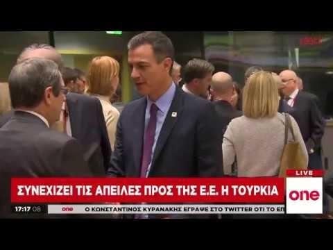 Συνεχίζει τις απειλές προς την ΕΕ η Τουρκία