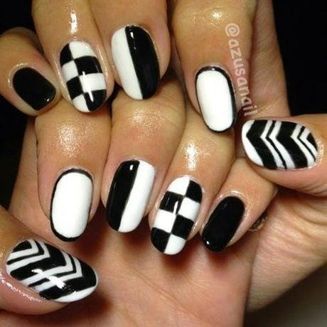 Nail Art Trend and Ideas : Be a Hot Chic with Black and ...