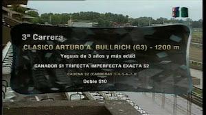 Nuestra candidata HUMORADA NEGRA $1,40 ganó como se esperaba el Clásico Arturo A. Bullrich G3