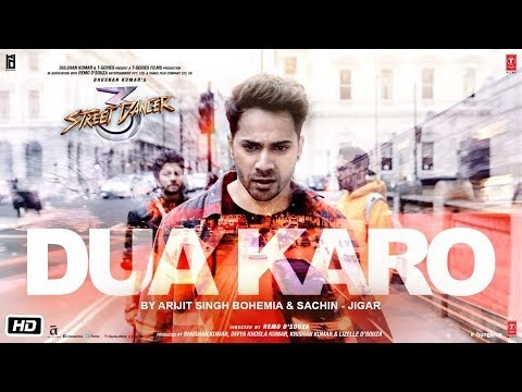 Dua Karo Lyrics | Arijit Singh | Street Dancer 3D
