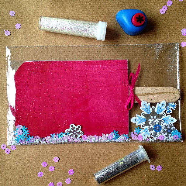#strawberrysplit #icecream #icelolly #snowflakes #confetti #elevatedenvelope