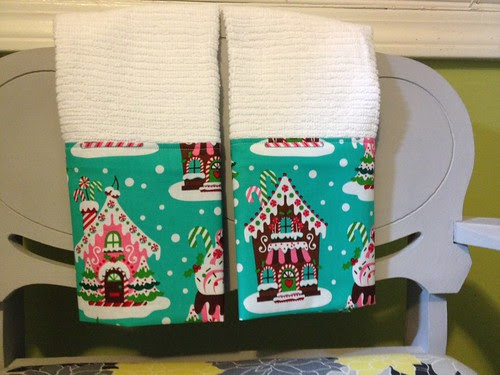 Gingerbread tea towels
