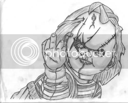 25 Dibujos Para Colorear De Chucky Paginas Para Colorear