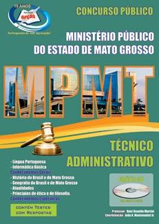 Ministério Público do Mato Grosso-TÉCNICO ADMINISTRATIVO