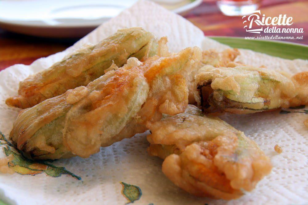 Zuppa ricetta pastella di fiori di zucca for Fritti romani