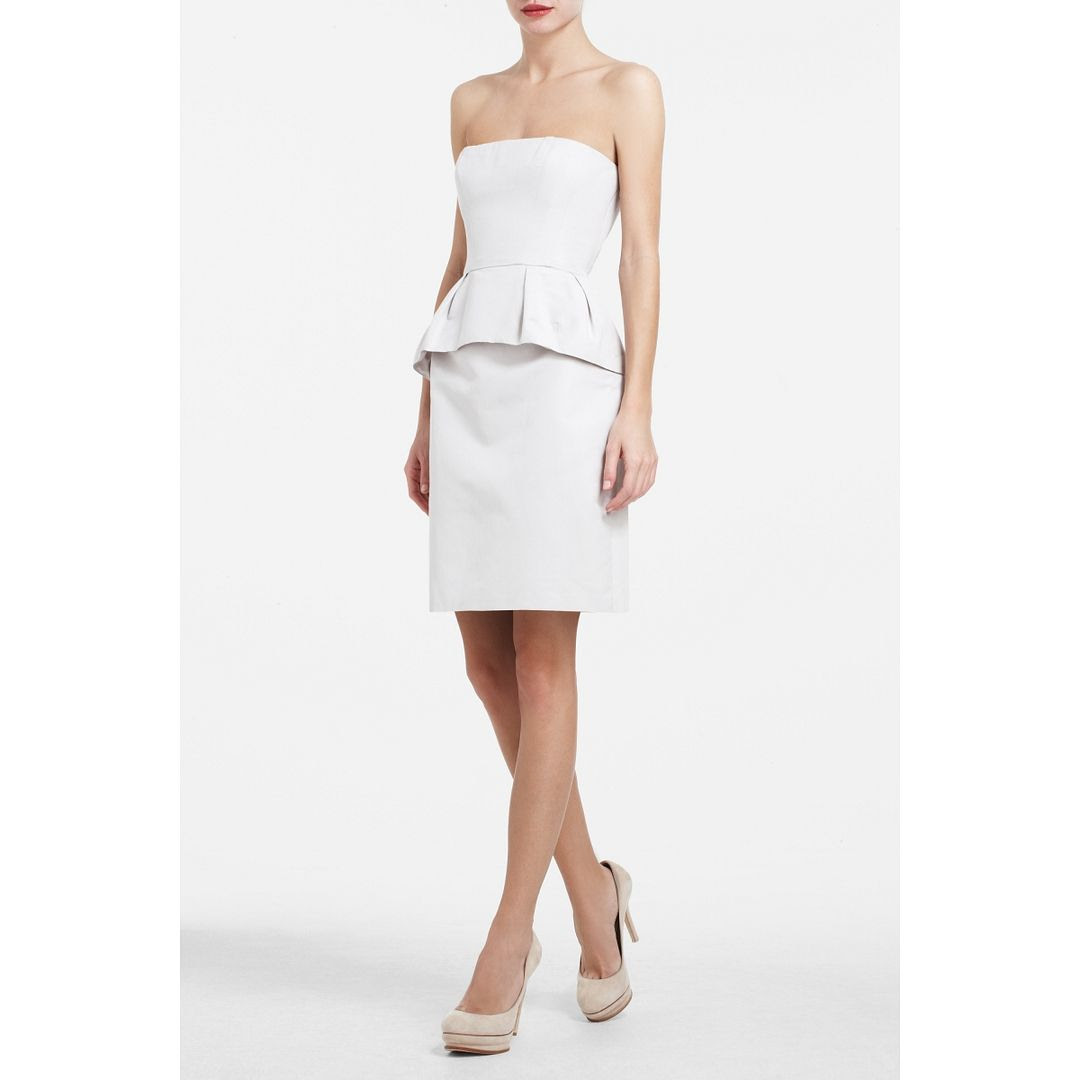 BCBGMAXAZRIA Avanti Strapless Cocktail Dress