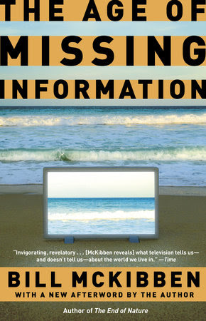 The cover of the book The Age of Missing Information