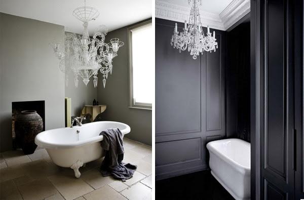 4 eccentric  ways to light your bathroom