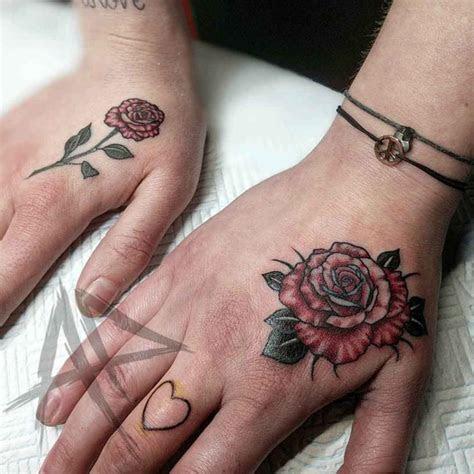 rose hand tattoo tattoo ideas gallery