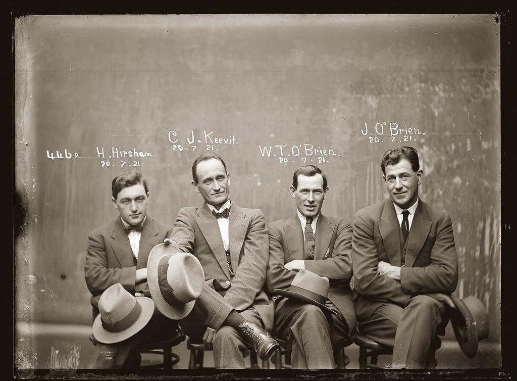 photo police sydney australie mugshot 1920 21 Portraits de criminels australiens dans les années 1920