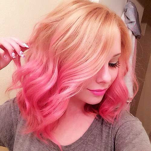Nice Short Pink Hair Ideas for Young Women | Short ...