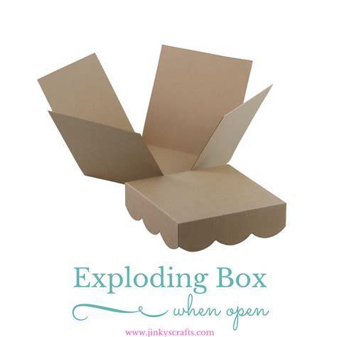 Kraft Exploding Box DIY KIT   Jinkys Crafts