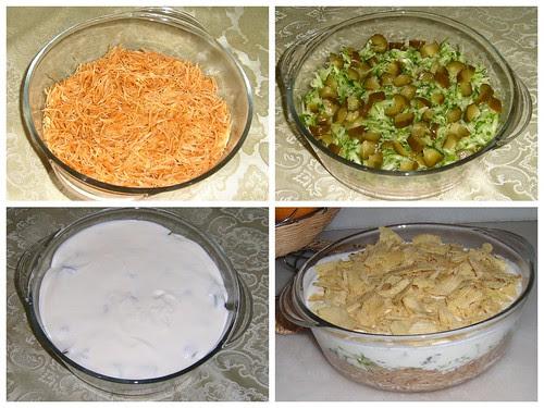 cipsli şehriye salatası