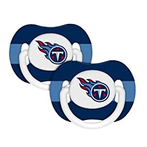 NFL Tennessee Titans Baby Fanatic 2-Pack Pacifiers