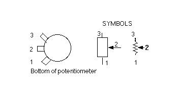 Potentiometer Wiring Schematic Symbol Wiring Diagram Library