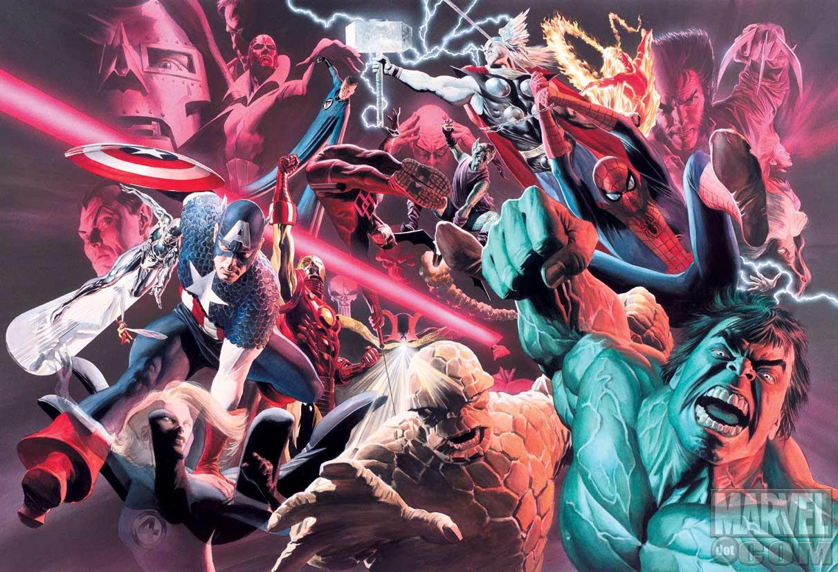 Alex Ross Marvel Artwork Once Upon A Geek