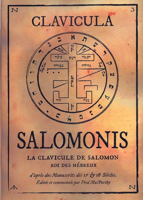 Risultati immagini per petite clef de salomon