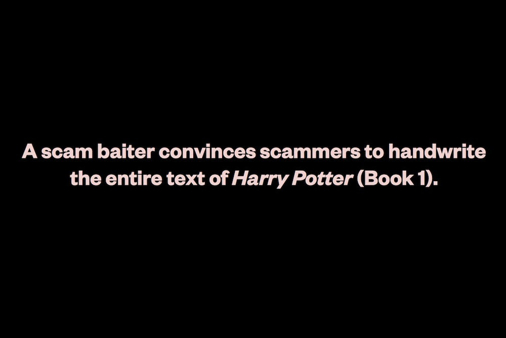 Henner, Mishka. Harry Potter and the Scam Baiter. PoD, 2012, 334 pages.