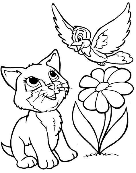 cute animal coloring pages timeless miraclecom