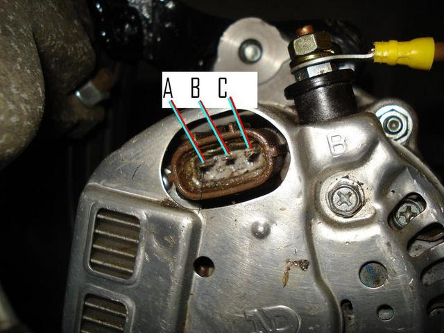 Denso Alternator Wiring Diagram