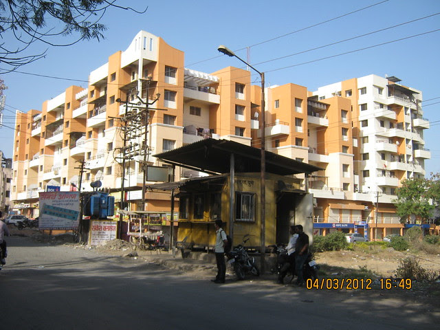 PMC Octroi Post - Kalpataru Serenity, 2 BHK & 3 BHK Flats at Manjri, opp. Navratna Mangal Karyalay, Mahadev Nagar, Pune 412 307