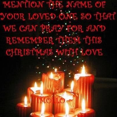 Christmas Quotes Missing A Loved One Ideas Christmas Decorating