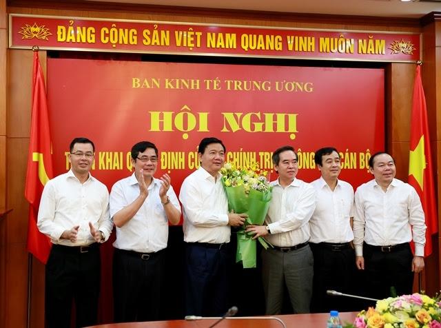 Đinh La Thăng, Dinh La Thang, Ban Kinh tế Trung ương, Nguyễn Văn Bình