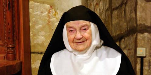 Una 'novicia' de 103 años en el JMJ
