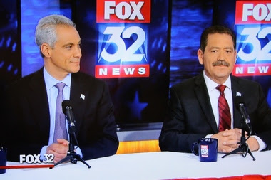 'You Are Not the King of the City,' Chuy Tells Rahm at Debate